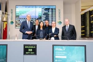 Toespraak Euronext: studie duurzaam financieren